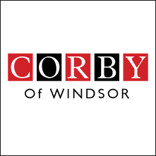 logo corby of windsor