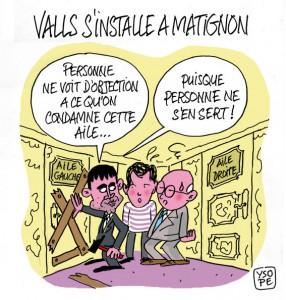 Nomination Manuel Valls premier ministre