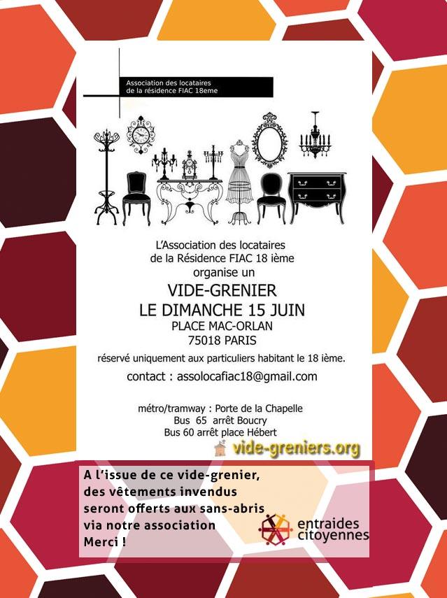 Le 18e arrondissement/Nord fait la fête et la joue solidaire avec Entraides-Citoyennes