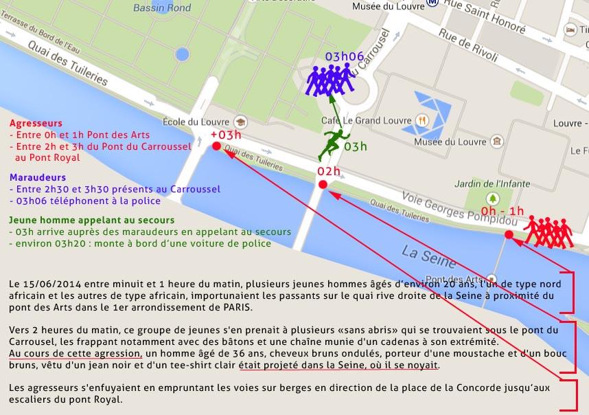 agression du 15 juin 2014