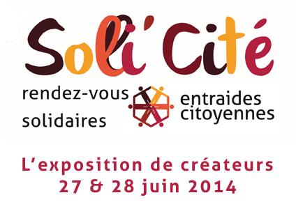 exposition de createurs solli'cité juin 2014