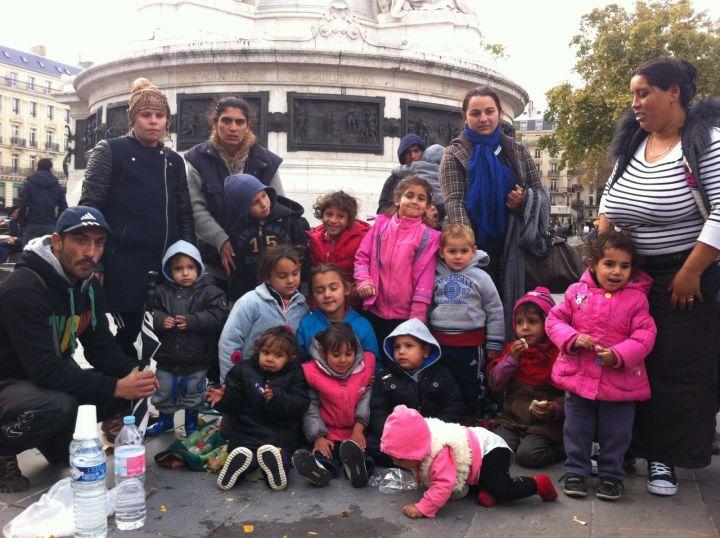 Roms-Coquetiers(place de la République