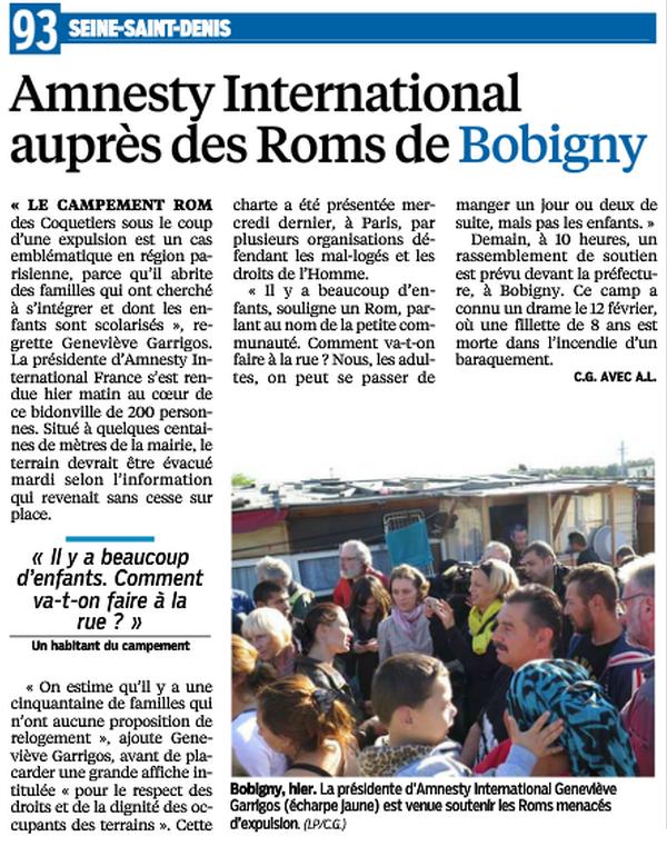 bobigny expulsion camp roms octobre 2014