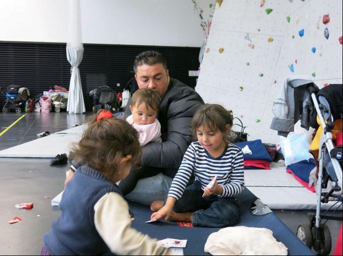 familles roms expulsées des Coquetiers-Le Parisien