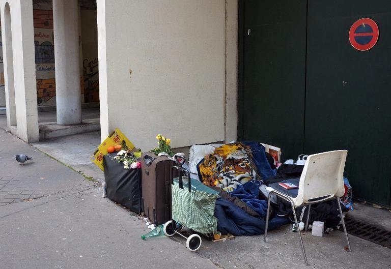 bagages sans-abris