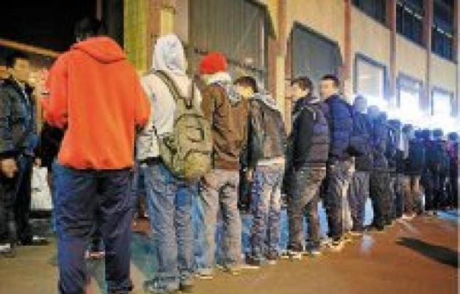 Mineurs isolés à la rue