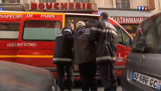 pompiers et sans-abris