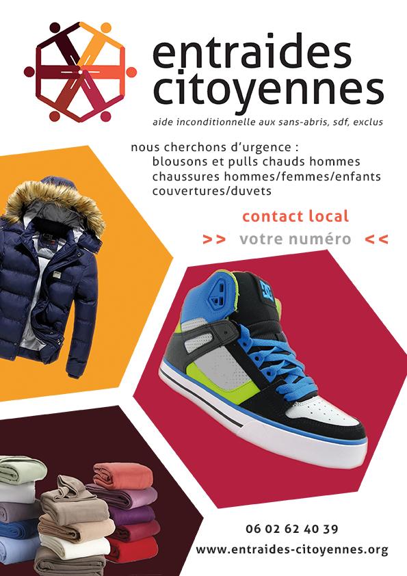 Collecte vêtements hiver 2015
