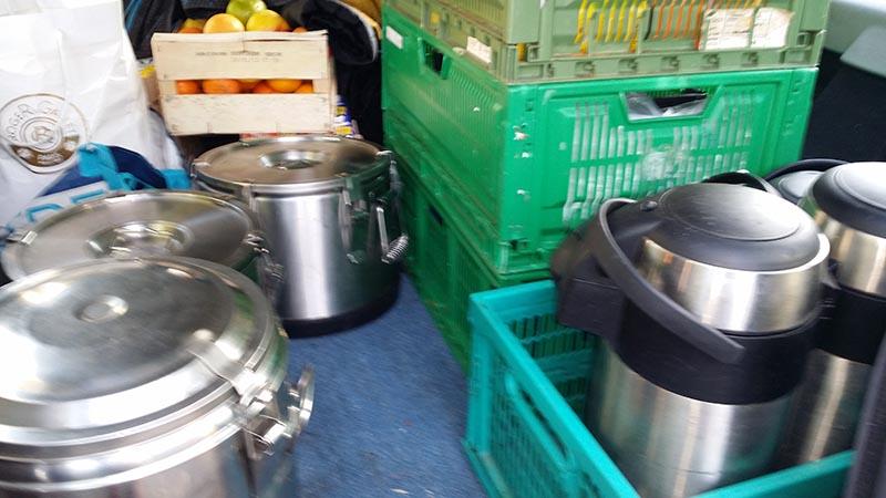 distribution alimentaire sans-abris demandeurs d'asile entraides-citoyennes