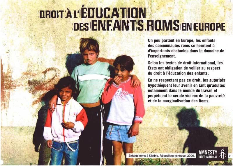 droits des enfants à l'école en europe