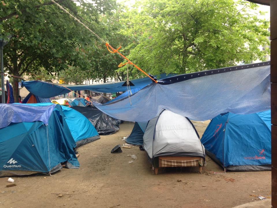 migrants jardin eole juin 2016 Agathe Nadimi 3