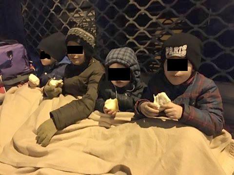 Enfants sans hébergements paris 19 juillet 2016