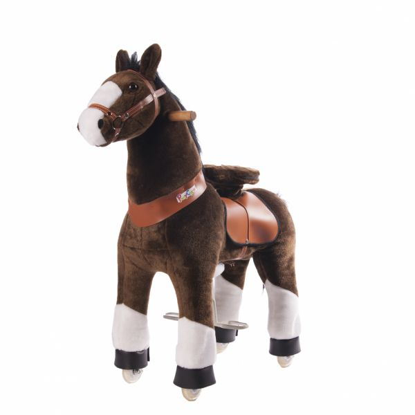 ponycycle-brun-pattes-blanches-cheval-a-roulettes-enfant-4-a-10-ans